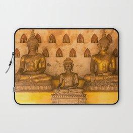 Wat Si Saket Buddhas III, Vientiane, Laos Laptop Sleeve