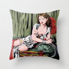 Hedy Lamarr Throw Pillow