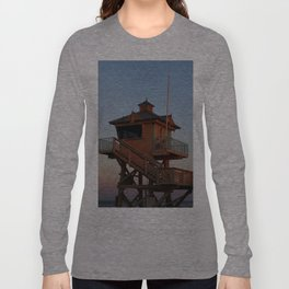 Guard Tower At Dusk Long Sleeve T-shirt