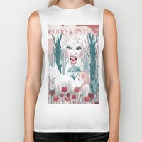 nicki Biker Tanks featuring the love story of Cupid And Psyche - Celebrity Edition by VeePonce