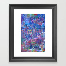 Beauty is on the Inside Framed Art Print