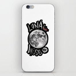 Luna Wise iPhone Skin
