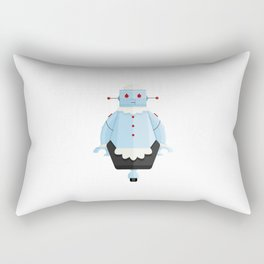 Rosie The Robotic Maid Minimal Sticker Rectangular Pillow