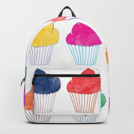 Cupcake Pattern Backpack