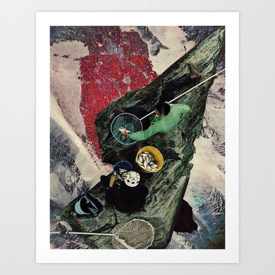 Dark-Thirty Art Print