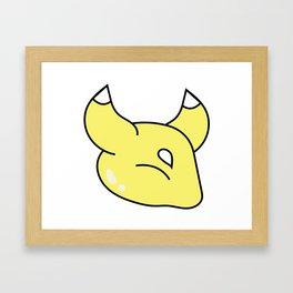 Kitsune Jr. Framed Art Print