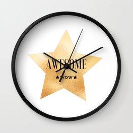 Hamilton Work Wall Clock