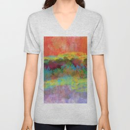 An Extraordinary Landscape Unisex V-Neck