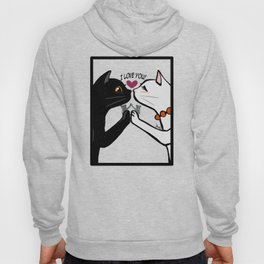 Love you cats Hoody