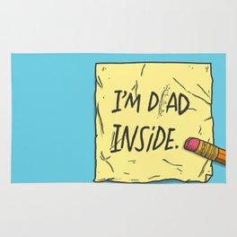 I'm Dad Inside Rug