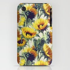 Sunflowers Forever Slim Case iPhone (3g, 3gs)
