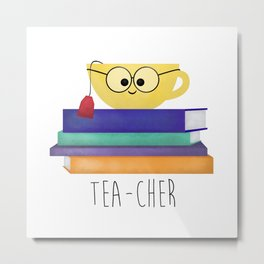 Teacher Metal Print