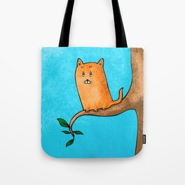 Kitty trouble Tote Bag