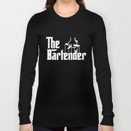 Bartender Gift For Bartender Profession Occupation Bartender T-Shirts Long Sleeve T-shirt