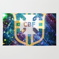 brazil Area & Throw Rugs featuring Brazil Logo by Cr7izbest