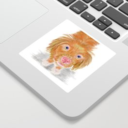 Jackson The Nova Scotia Duck Tolling Retriever Sticker