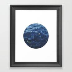 Planetary Bodies - Swirl Framed Art Print