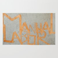 dancer Area & Throw Rugs featuring Dancer by Mahoney-Mahoney
