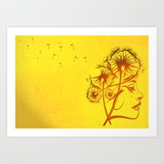 Fleeting Thoughts Art Print