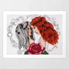 Closer.. Art Print
