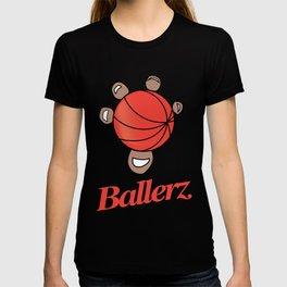 Basketball hand grip T-shirt