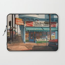 The Van Ness South Grocery 17 & SVN San Francisco 1994 Laptop Sleeve