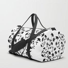 Black Rose bush Duffle Bag