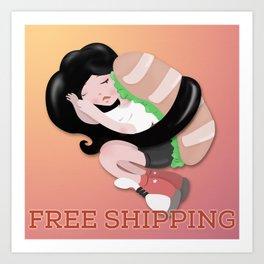FREE WORLDWIDE SHIPPING Art Print