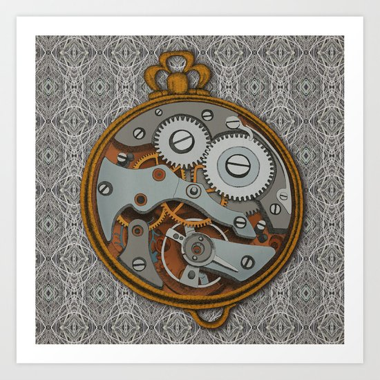 Pieces of Time Art Print