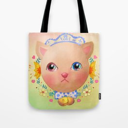 Cat you put the universe in the eyes Tote Bag