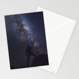 Iluminando la via lactea Stationery Cards