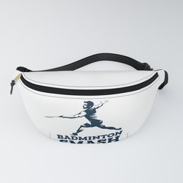 Badminton Player Fanny Pack