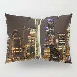 Seattle Space Needle & Cityscape Pillow Sham