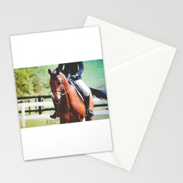 Trotting Gradient Stationery Cards