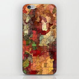 Autumn Inspired Torn Scraps 2492 iPhone Skin