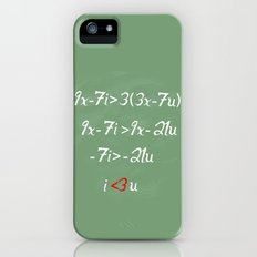 Math love iPhone (5, 5s) Slim Case