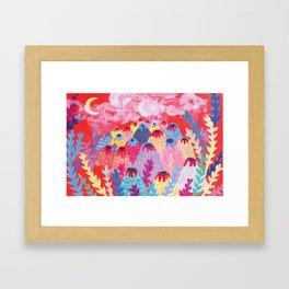 Volcano Series1 Framed Art Print