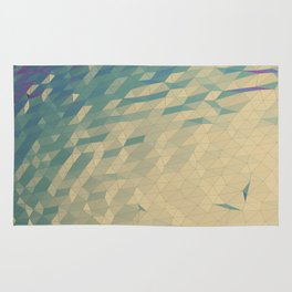 Only Colored Triangles Rug
