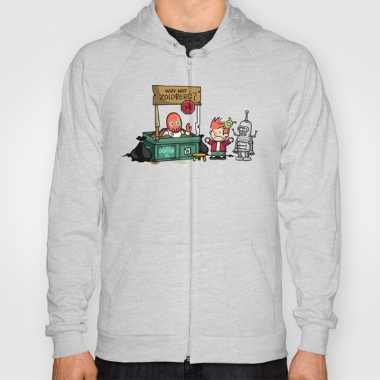 The Doctor is In.... Why not Zoidberg? Hoody