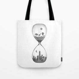 THE EVOLUTION OF THE WORLD Tote Bag