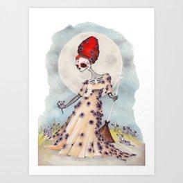 Cinderella Bones Art Print