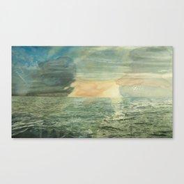 Thirteen Rows At Dawn  Canvas Print