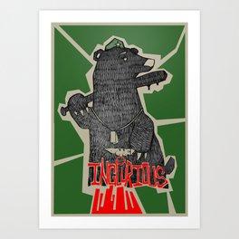 Inglourious Art Print