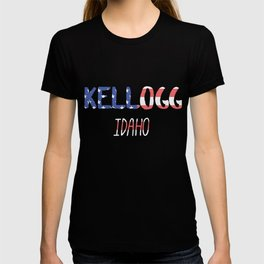 Kellogg Idaho T-shirt