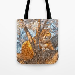 Ginger Cheshire Cat Tote Bag