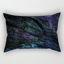 Midnight Enchantment : Forest Wall Rectangular Pillow
