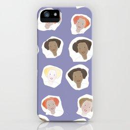 Lovely ladies iPhone Case