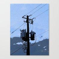 transformer Canvas Prints featuring Transformer by AMarloweCanPrint