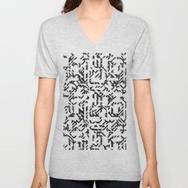 A Mazing Pattern Unisex V-Neck