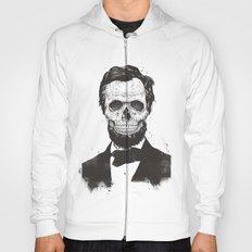 Dead Lincoln (b&w) Hoody